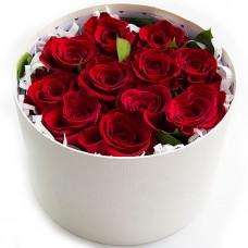 Коробка с розами ХИТ